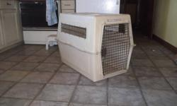 I am no longer in need of my Vari Kennel and would like to sell it or trade it . It is in excellent condition and very clean!!   Please have a look at the picturesand let me know if you are interested.   Thank you!   Marty